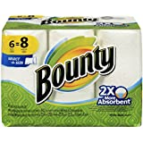 Bounty Select-A-Size Paper Towels, White, 6 Big Rolls