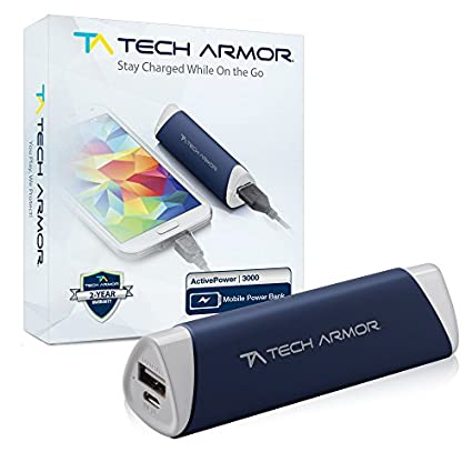 Tech Armor Active Power 3000mAh Power Bank