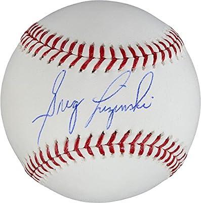Greg Luzinski Chicago White Sox Autographed Baseball - Fanatics Authentic Certified - Autographed Baseballs
