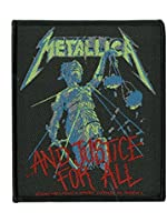 Metallica And Justice For All Official New Patch (10cm x 8cm)