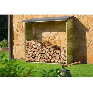 Rayonnage pour bois de cheminée Abri pour bois de cheminée Aktion pour 1,5 m³ de bois