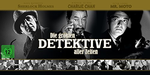 Die größten Detektive aller Zeiten - Box [34 DVDs]