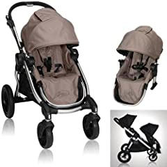 Baby Jogger City Select 2013 with FREE Second Seat Kit, Quartz by BaJogger