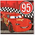 Cars Lunch Napkins, Pack of 16, Party Supplies
