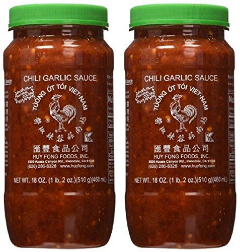 Huy Fong Fresh Chili Garlic Sauce 18-Ounce (Pack of 2) (Huy Fong Garlic Chili Sauce compare prices)