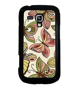 Printvisa Ultra Butterflies Pattern 2D Hard Polycarbonate Designer Back Case Cover for Samsun...