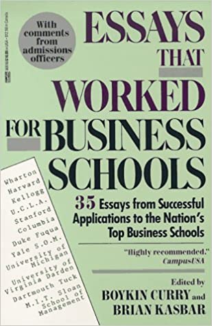 Samples Of Successful Harvard Business School Essays