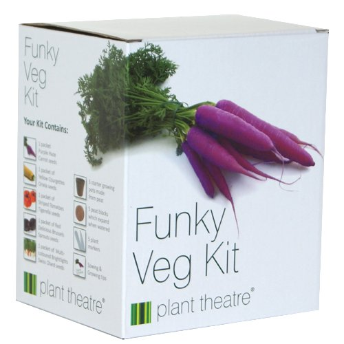 Funky Veg Kit by Plant Theatre &#8211; 5 Extraordinary Vegetables to Grow