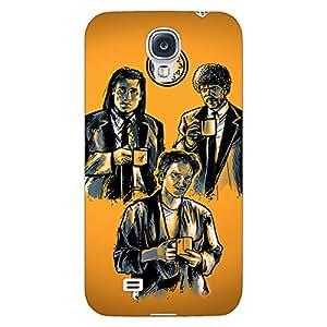 Jugaaduu Pulp Fiction Back Cover Case For Samsung Galaxy S4 Mini I9192
