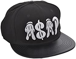 ICE DRAGON Unisex Synthetic Cap (Black)