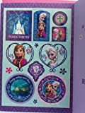 Greeting Card Disney Frozen Birthday Girl Today's Your Day with Stickers