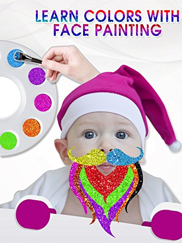 Learn Colors With Face Panting