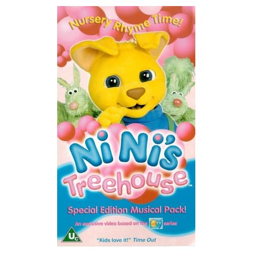 Nini's Treehouse: Nursery Rhymes [VHS]: Ni Ni's Treehouse