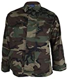 Propper BDU 4-Pocket Coat, 60/40 Cotton/Poly Twill, Large-Short,