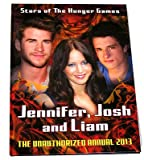 Stars Of The Hunger Games Annual Book Stories Puzzles 2013