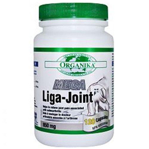 Organika Mega Liga-Joint 850Mg 120 Capsules