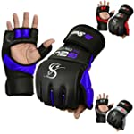 Auth. Rex Leather MMA Grappling Glove...