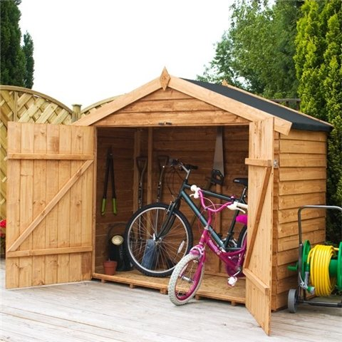 BIKE STORE 7FT(2.01m) x 3FT(0.82m) OVERLAP SUPER SAVER