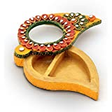 Little India Unique Kundan Meenakari Mango Design Container