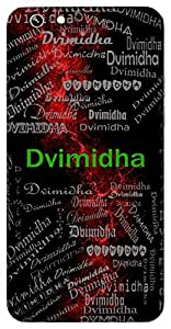 Dvimidha (Hindu Boy) Name & Sign Printed All over customize & Personalized!! Protective back cover for your Smart Phone : Moto E-2 ( 2nd Gen )