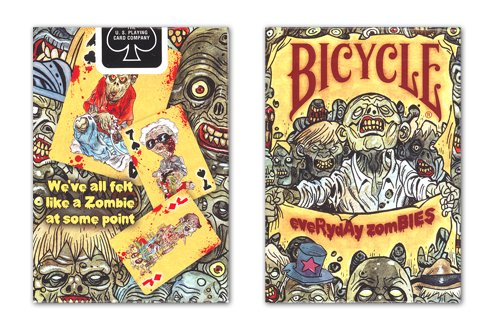 Bicycle Everyday Zombies Playing Cards - 1