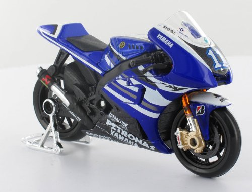 Maisto Yamaha Factory Racing #1 Lorenzo Diecast Model Scale 1:18