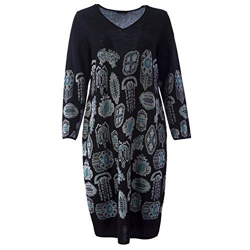 marina-rinaldi-womens-gigi-printed-sweater-dress-x-large-black