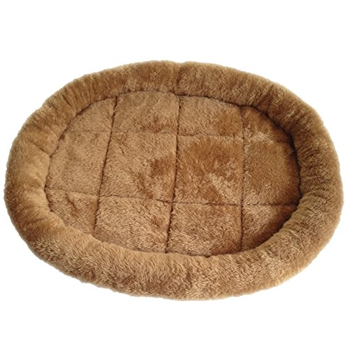 Self Warming Pet Bed – Perfect for Dogs or Cats between 11-25 pounds – Heated Cat Bed – Heated Dog Bed – Beautiful Tan Color