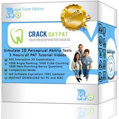 Dental Admission Test - Crack DAT PAT (2012-2013 Royal Flush Edition) Digital Download