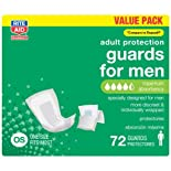 Rite Aid Protective Guards for Men, Maximum Absorbency, 72 ct