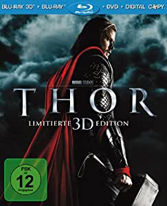 Thor - Limitierte 3D Edition (+ Blu-ray + DVD + Digital Copy) [Limited Edition] [Blu-ray 3D]