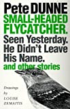 img - for Small-headed Flycatcher. Seen Yesterday. He Didn't Leave His Name.: and other stories book / textbook / text book