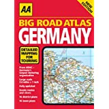 AA Big Road Atlas Germany (AA Atlases)by AA Publishing