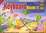 Turner and Scott Progressive Keyboard Method for Young Beginners: Book 1 (Book, CD & DVD)