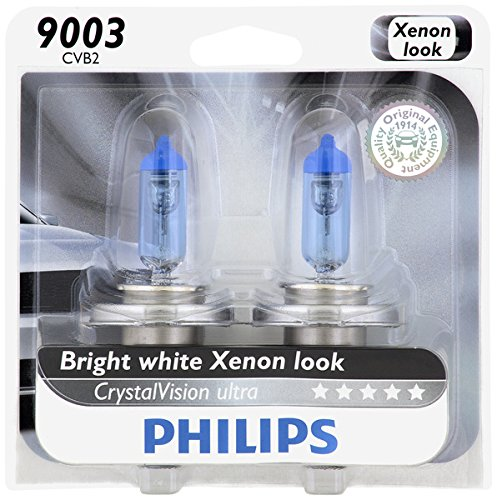 Philips 9003 CrystalVision Ultra Upgrade Headlight Bulb, 2 Pack (Mitsubishi Galant 03 Headlight compare prices)