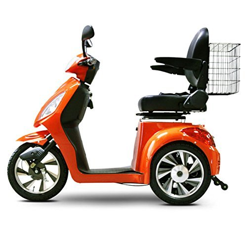E-Wheels EW-36 3-Wheel Electric Senior Mobility Scooter – Orange