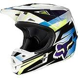 Fox フォックス V1 Costa Helmet オフロードヘルメット 2013モデル ブルー L(59?60cm)