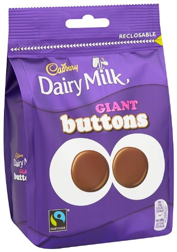 Cadbury Dairy Milk Chocolate Giant Buttons