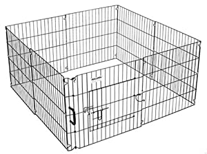 Precision Pet 24 in. Ultimate ExPen Black Boxed