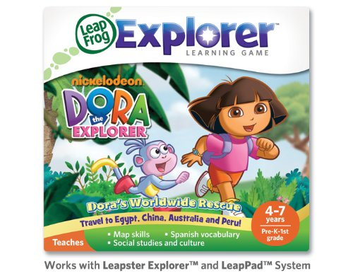 Leapfrog Leapster Explorer Dora the Explorer Game