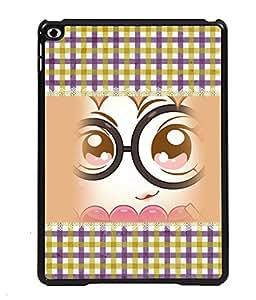PRINTVISA Pattern with Baby Eye Premium Metallic Insert Back Case Cover for Apple IPad 5 - D5763