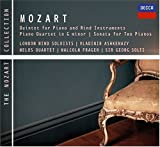 Mozart: Quintet for Piano and Wind Instruments; Piano Quartet in G minor; Sonata for Two Pianos