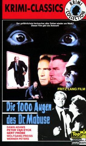 Die 1000 Augen des Dr. Mabuse [VHS]