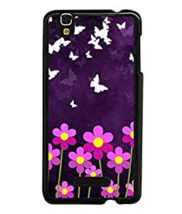 printtech Butterfly Flowers Back Case Cover for Motorola Moto X Style