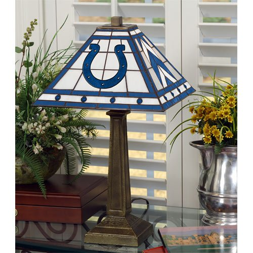 Indianapolis Colts Memory Company Team Mission Lamp NFL Football Fan Shop Sports Team Merchandise at Amazon.com