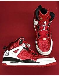 Nike Air Jordan Rare Deadstock 4 5 6 Spizike (Metallic/Red/Black)