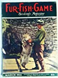 img - for Fur-fish-game March 1935 Harding's Magazine Vol. Lxi No. 3 book / textbook / text book