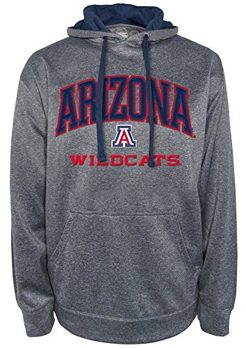 NCAA Arizona Wildcats Men's Dominate 2 Long Sleeve Hooded