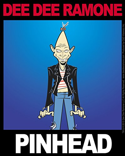 C&D Visionary Dee Dee Ramone Pinhead Sticker