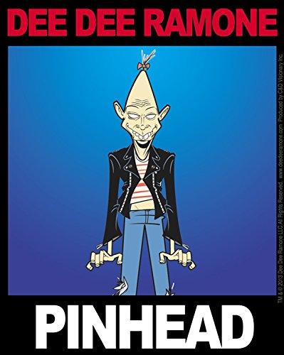C&D Visionary Dee Dee Ramone Pinhead Sticker